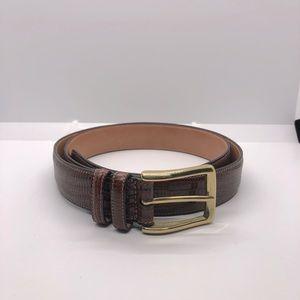 Trafalgar leather belt size 38